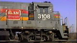 BEFORE WIDE CABS.   See what the CSX looked like in May 1992!