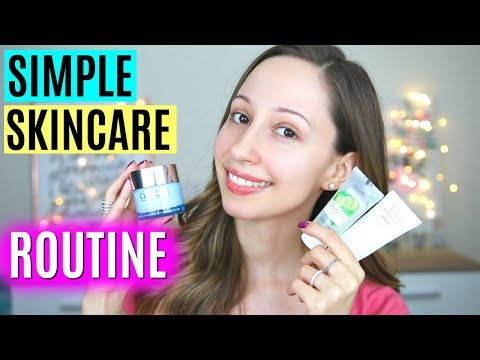 My Skincare Routine Day To Night - DRY and SENSITIVE skin | Vasilikis Beauty Tips