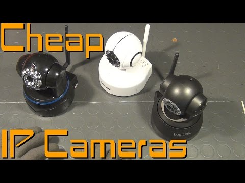 Cheap IP Camera Basics + Product Reviews