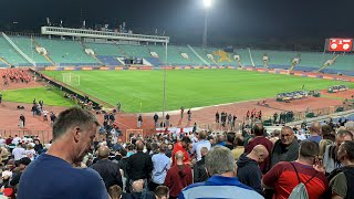 ENGLAND FANS KEPT BEHIND IN BULGARIA - Racist Football Fans
