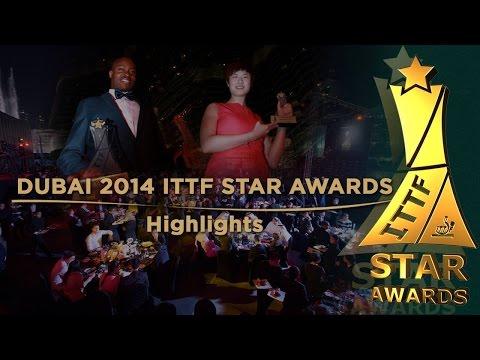 Dubai 2014 ITTF Star Awards Highlights