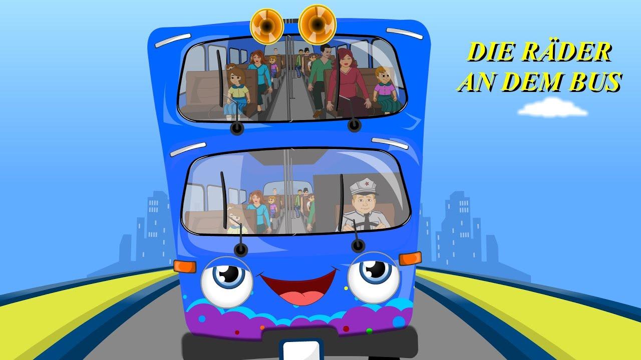 die r der vom bus kinderlieder deutsch das buslied kinderlieder zum mitzingen youtube. Black Bedroom Furniture Sets. Home Design Ideas