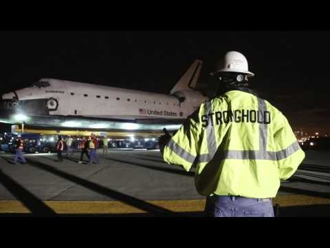 Stronghold Engineering Inc. Assists in Space Shuttle Endeavour Relocation