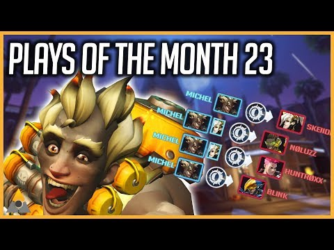 OVERWATCH - PLAYS OF THE MONTH #Mixplays 23