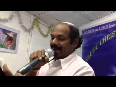 Telugu Christ Worship Church In Israel  Song By Jesudas video