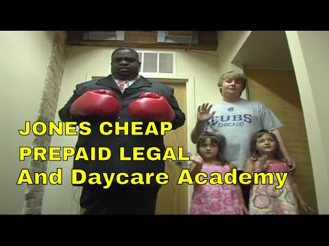 Jones' Cheap Ass Prepaid Legal and Daycare Academy Video