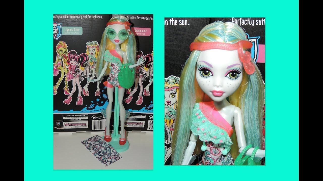 Monster High Lagoona Blue Swim Doll Monster High Lagoona Blue Swim