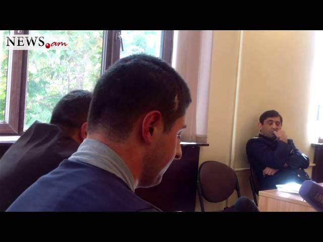 On case of Lyuqs Stepanyan testify victim Hrachya Sargsyan