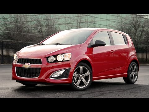 2013 Chevrolet Sonic RS - WINDING ROAD POV Test Drive