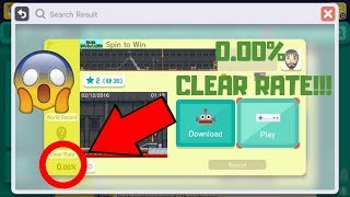 CLEARING AN UNCLEARED LEVEL BEFORE SUPER MARIO MAKER 2 COMES OUT!!!