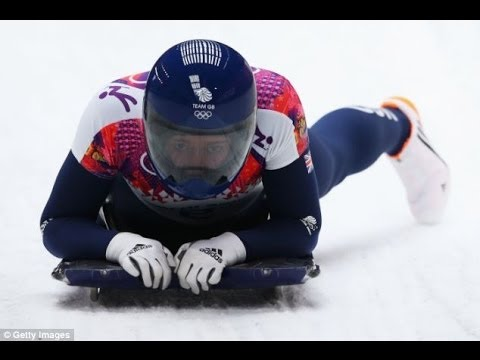Lizzy Yarnold wins Sochi Winter Olympics gold for Britain in skeleton