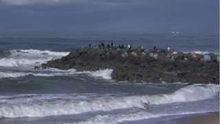 Anglet:  Championnats de France Surf 2012 - Euskadi Surf TV