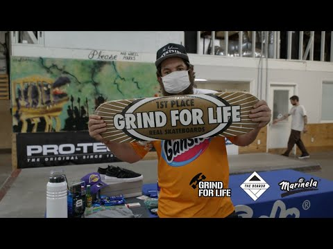 What's in a Grind for Life Series Skateboarding Contest Prize Pack?