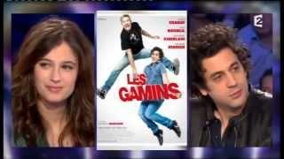 Max Boublil & Mélanie Bernier On n'est pas couché 13 avril 2013 #ONPC