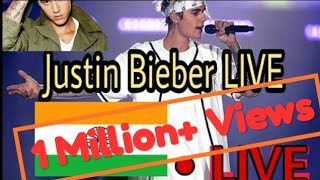 Purpose Tour Justin bieber.. Grand concert in Mumbai 2017