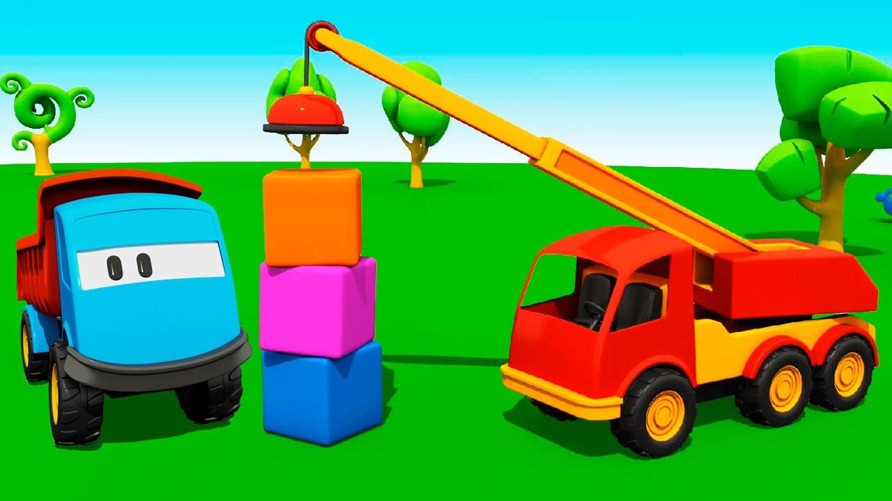 Конструктор для детей машинки