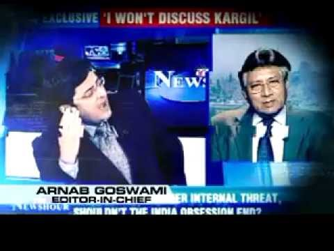Times Now in UK - Promo (Pervez Musharraf)