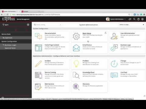 ServiceNow Express: What's New in Geneva