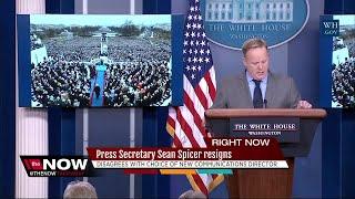 Spicer resigns as W.H. Press Secretary, Sarah Huckabee Sanders to replace him
