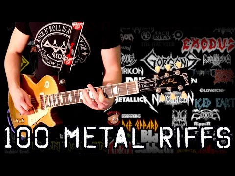 100 Metal Riffs - Greatest Metal Riffs – Part 1 - Karl Golden