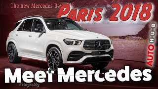 Paris 2018: Weltpremiere Mercedes GLE / smart forease / Mercedes A35 AMG