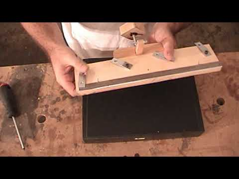 Woodworking Planer Jointer Knife Sharpening Jig