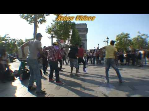 Breakdance Paris Champs Elysées (Xenou)