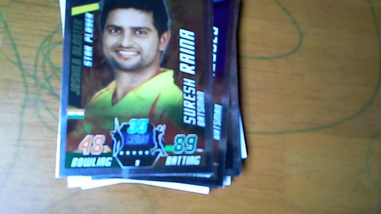 Cricket Attax Cards 2014 Cricket Attax 2014 / 2015