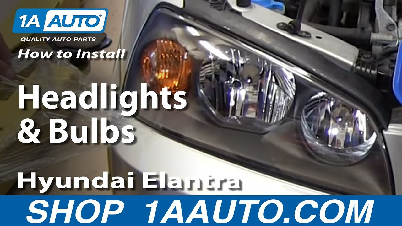 How To Install Replace Change Headlights And Bulbs 2001 06