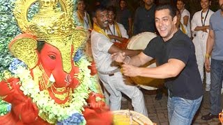 All Salman Khan Ganpati Visarjan