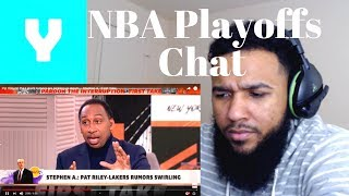 First Take - Pat Riley To the Lakers? NBA Playoffs Chat