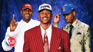 NBA draft fashion history — from Magic's sharp suit to LeBron's all-white attire | NBA Draft