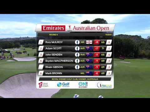 2013 - Emirates Australian Open R4 highlights