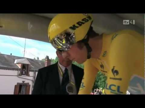 Bradley Wiggins- Le Tour De France Champion 2012