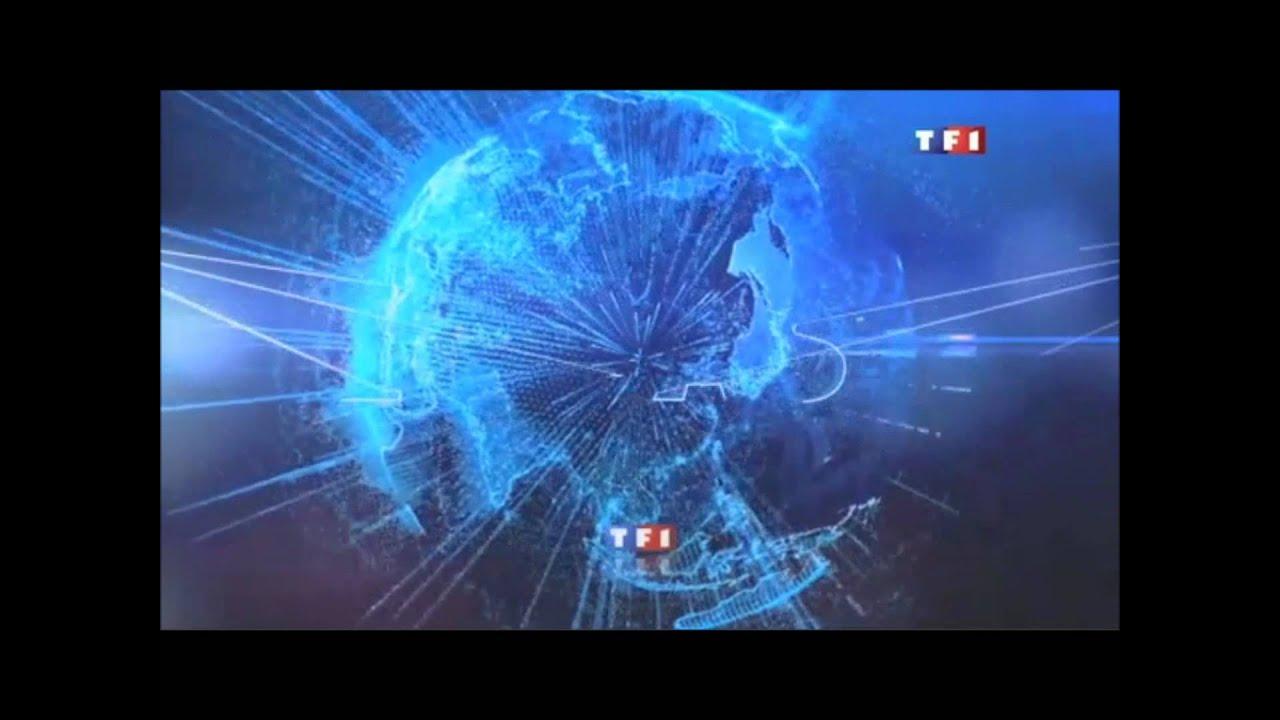 Générique - flash - TF1-2011 - YouTube