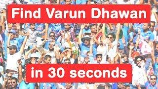 Download Find Varun Dhawan in 30 seconds - Judwaa 2 Challenge 3Gp Mp4