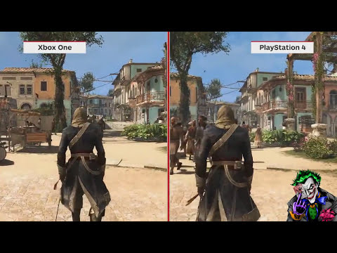 PS4 VS XBOX ONE test grafico !