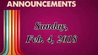 2 4 18 Announcements Movie