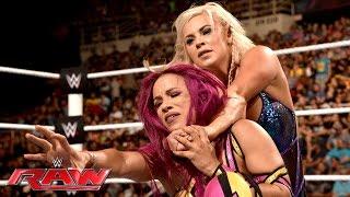 Sasha Banks vs. Dana Brooke: Raw, July 11, 2016