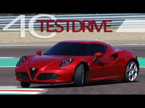 Alfa Romeo 4C - Track Test Drive - AWESOME Sound