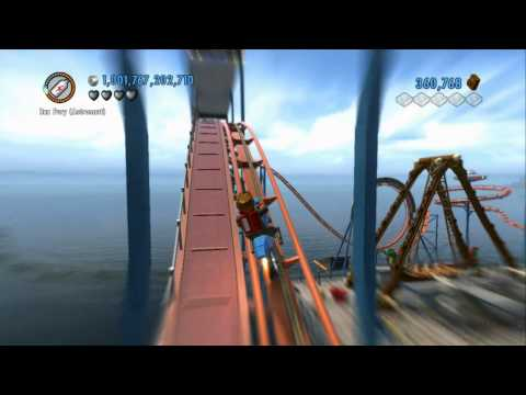 LEGO City Undercover - Vehicle Stunt - Roller Coaster Loop on a Motorcycle (Orion's Rockets)