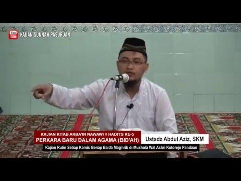 SALAH FAHAM TENTANG BID'AH