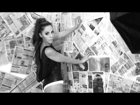Kiesza - Hideaway (Backstage photoshoot de Loraine Quinto - José Martínez Enie Fine Art Photography)