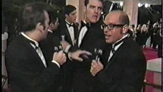 Bob & David at the Oscars 1999