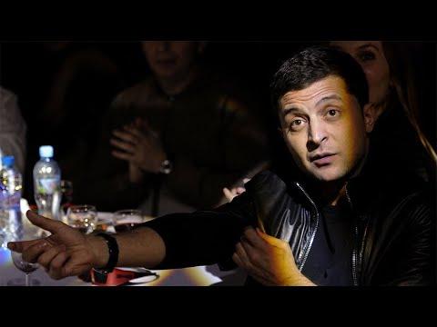 «Портрет Владимира Зеленского — самого неожиданного кандидата в президенты Украины