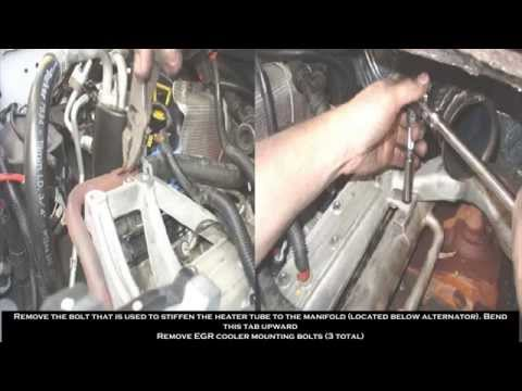 03-07 Ford 6.0 EGR Delete Kit Installation