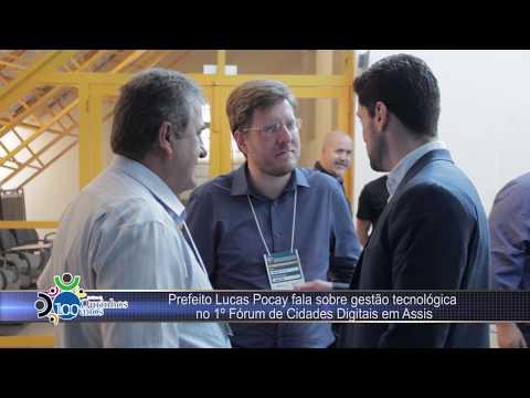 Segurança Pública de Ourinhos é destaque no Fórum Redes Cidades Digitais