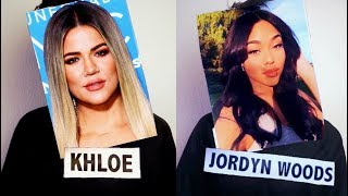 If The Kardashians and Jordyn Woods Had A Rap Battle..