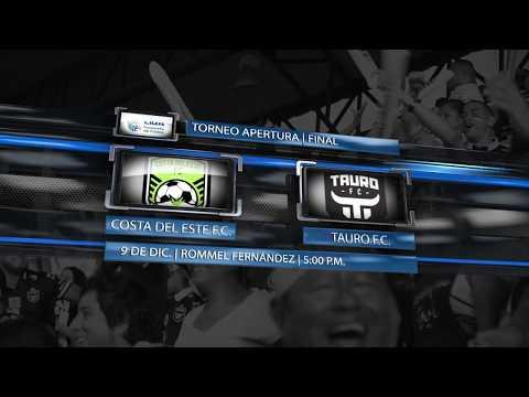 promo-gran-final-apertura-2019-costa-del-este-fc-vs-tauro-fc