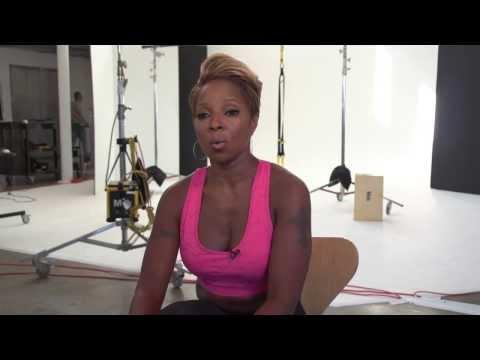 Mary J. Blige ~ Shape December 2013 video